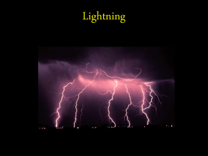 Powerpoint about Lightning