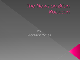 The News on Brian Robeson