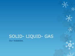 solid liquid gas foldable