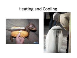 8I Heating and Cooling quiz