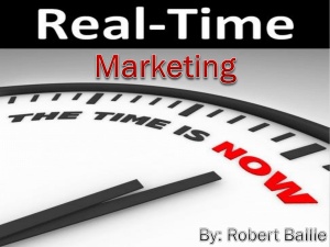 Real-Time Marketing