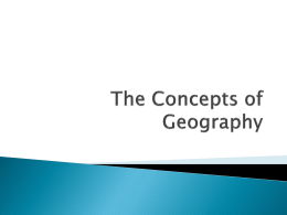 PowerPoint - Global Geography 12