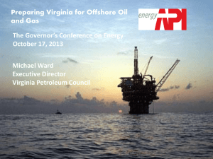 Michael Ward, Executive Director, Virginia Petroleum Council