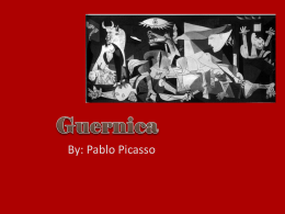 Guernica - AP English Language and Composition
