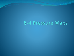 8-4 Pressure Maps - LB Star Investigators