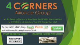 4 Corners Alliance Group is headquartered in the