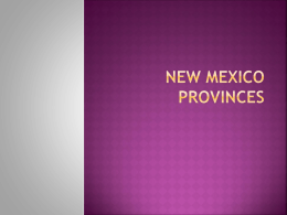 Basin and Range Province PowerPoint
