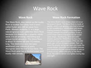 Wave Rock - futureeinsteins