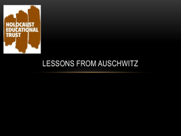 Lessons from Auschwitz - The Purbeck School Humanities Blog