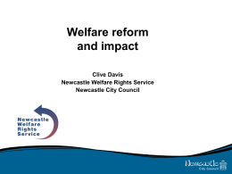 Welfare reform presentation