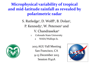 Microphysical variability of tropical and mid
