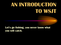 Lets Go Fishing - West Mountain Radio