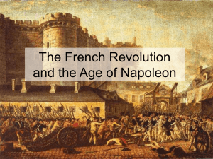 French Revolution intro, causes, Napoleon