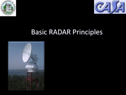 CASA Doppler Radar Network - Electrical and Computer