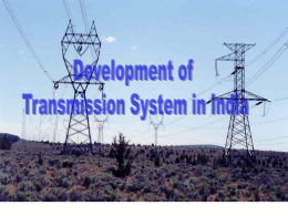 Development of Transmission System in India