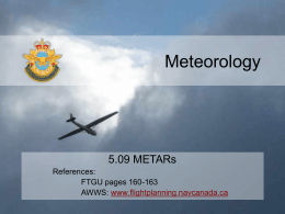 5.09 METARs - 94aircadets.ca