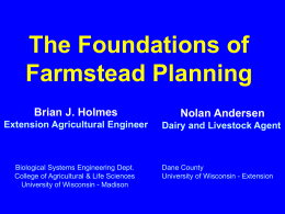The Foundations of Farmstead Planning (Read-Only)