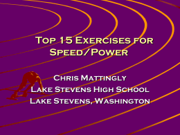 Top 15 Exercises for Speed