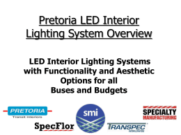Fluorescent Lamp Tubes - Pretoria Transit Interiors, Inc.