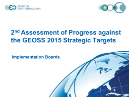 Implementation Boards 2nd Assessment of Progress against the
