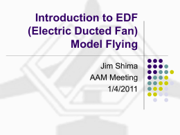 EDF (Electric Ducted Fan) RC Planes