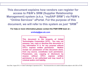 SRM Vendor Registration Instructions