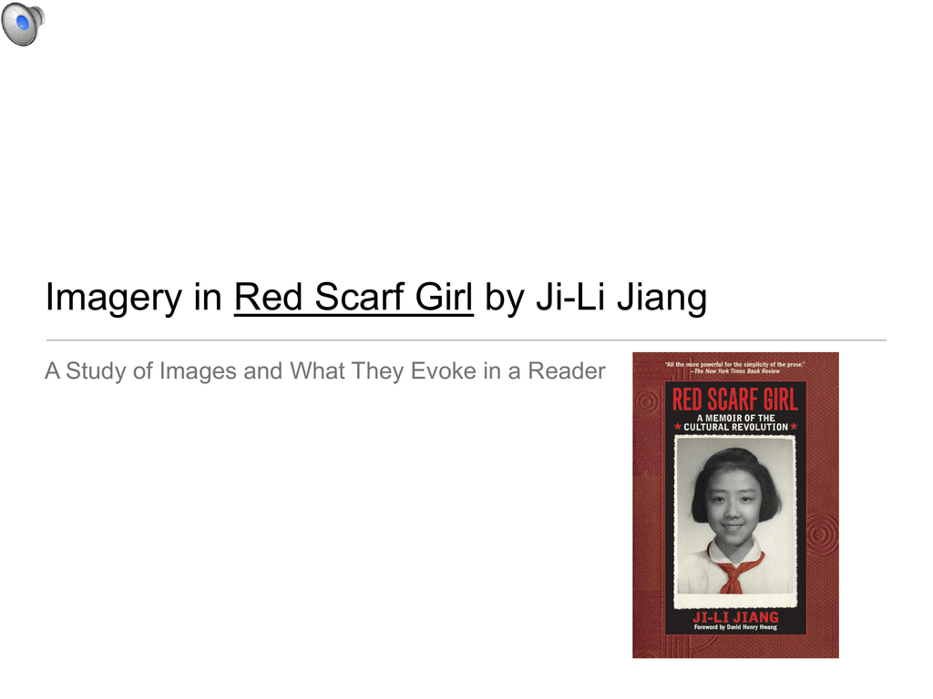 RED SCARF GIRL IMAGERY