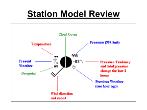 Station Model Review