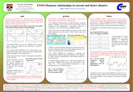 ENSO-Monsoon relationships in current and future climates