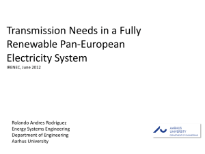 Transmission Needs in a Fully Renewable Pan