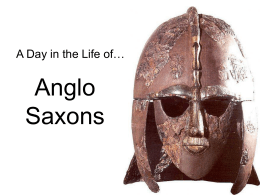 Anglo Saxon Intro with Riddles