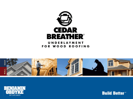 Cedar Breather Power Point