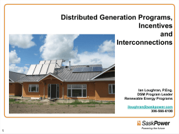 Presentation - Canadian Solar Industries Association