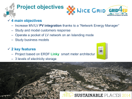 How to facilitate the integration of distributed energy resources into