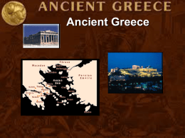 Ancient Greece Geo