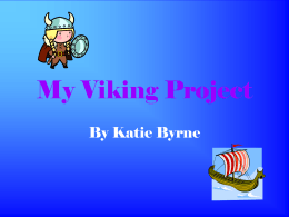 My viking project by Katie