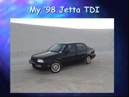 My 98 Jetta TDI - Scott`s Jetta TDI Page