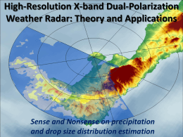High-Resolution X-band Dual-Polarization Weather Radar: Theory