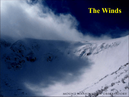 lecture 13 the winds