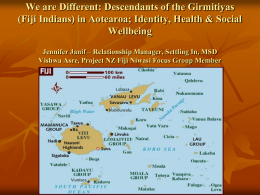 Descendants of the Girimitiyas (Fiji Indian)