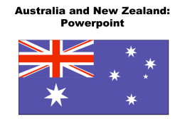 Australia and New Zealand: Physical Geography