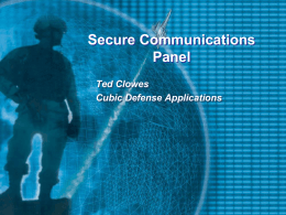Ted Clowes - The Security Network
