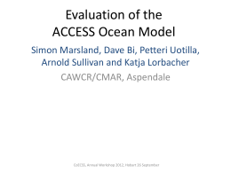 CORE-IAF with the ACCESS Ocean and Sea Ice Model