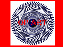 Op Art Power Point Presentation