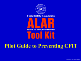 Pilot Guide to Preventing CFIT