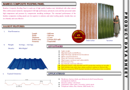 Bamboo Data Sheet - Composites Technology Park