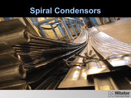 Spiral_Condensors - Nitator Stainless Steel AB