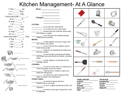 Kitchen Management