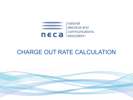 How to calculate your charge out rates
