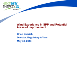 SPP Wind Workshop BG v3 NextEra